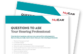 Questions to ask hearing professional